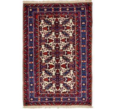 Image of 4' 7 x 7' 2 Karabakh Oriental Rug