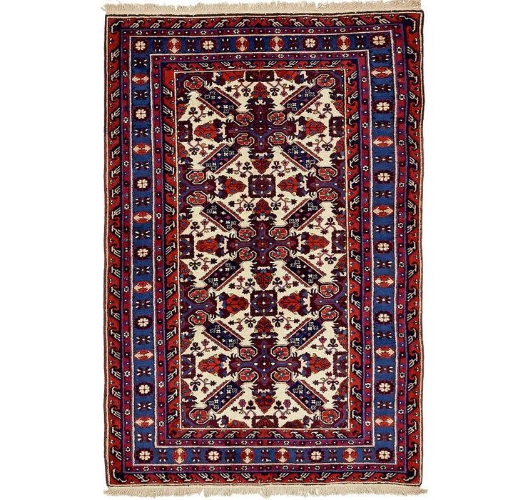 Image of 140cm x 218cm Karabakh Oriental Rug