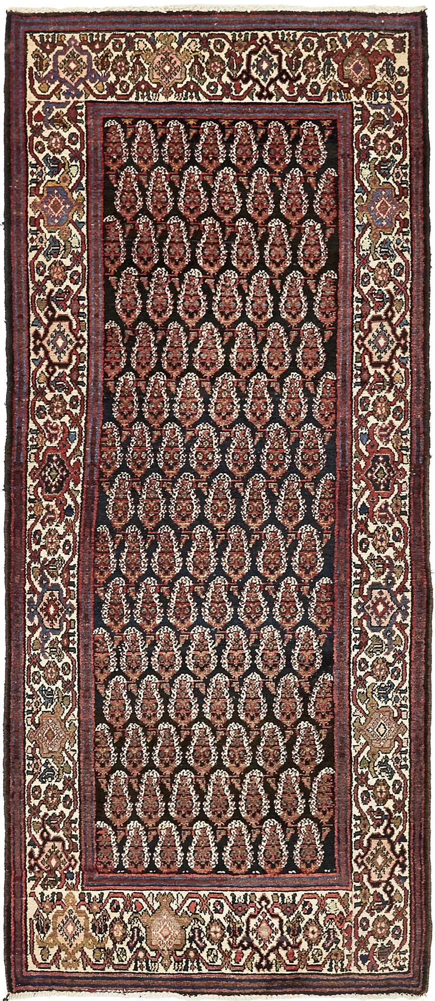 3' 7 x 8' 5 Malayer Persian Runner Rug main image