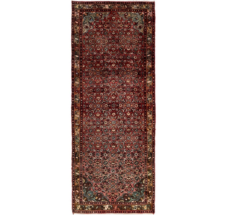 125cm x 325cm Hossainabad Persian Run...