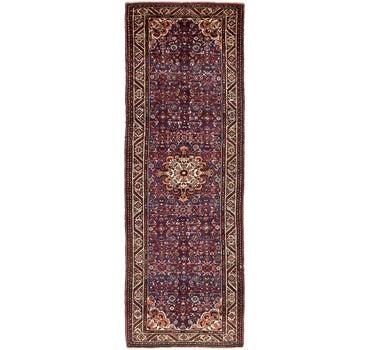3' 7 x 11' 3 Hossainabad Persian Runner Rug