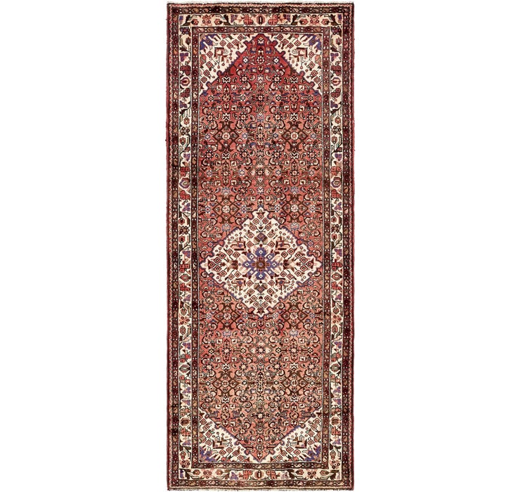120cm x 307cm Hossainabad Persian Run...