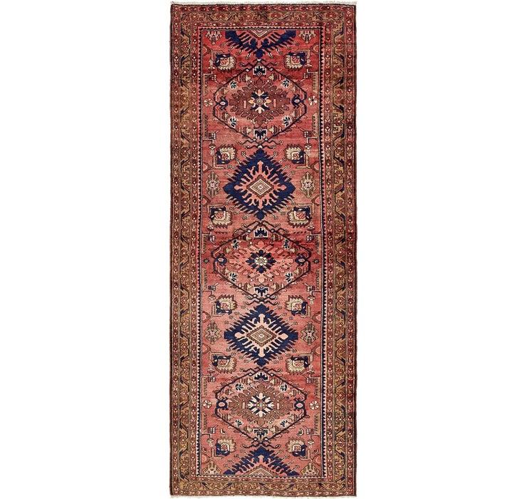 127cm x 335cm Zanjan Persian Runner Rug