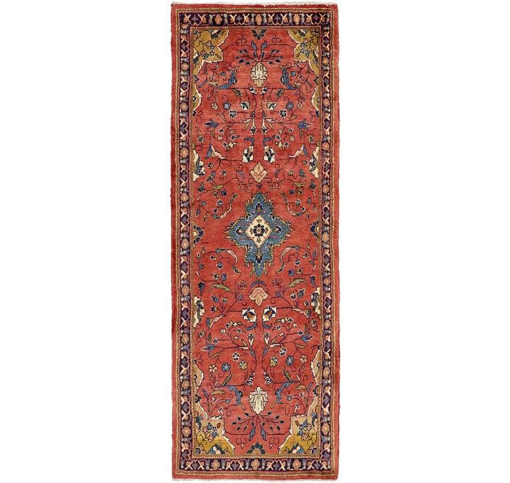 102cm x 292cm Sarough Persian Runner ...