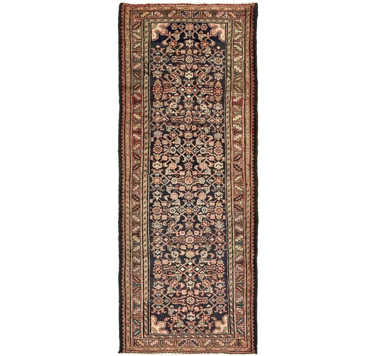 112cm x 282cm Hossainabad Persian Run...