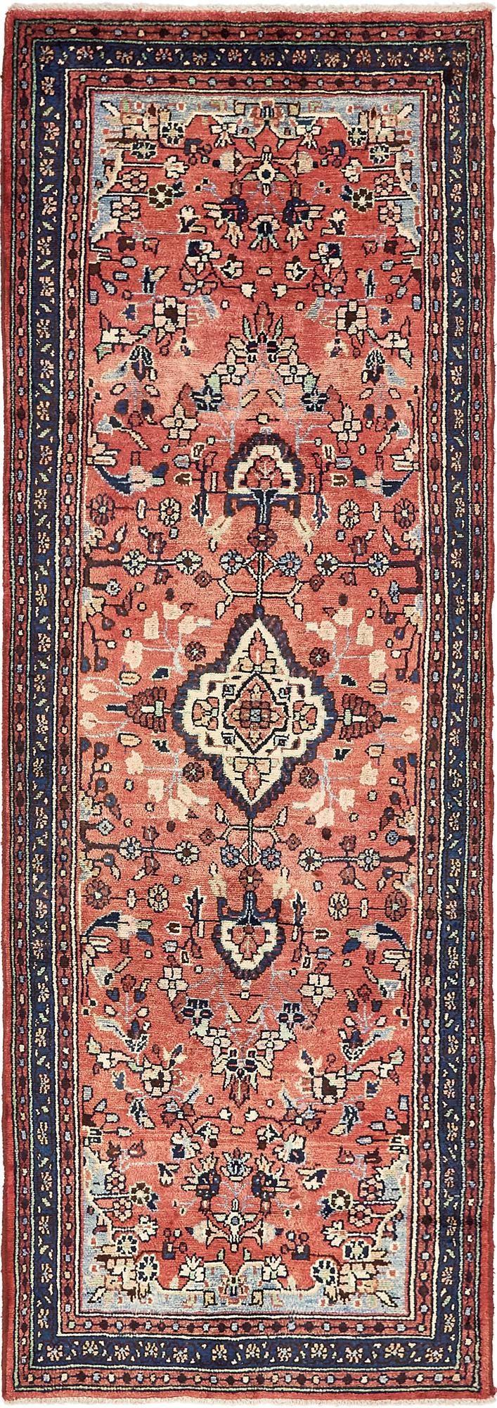 3' 6 x 10' 4 Hamedan Persian Runner Rug main image