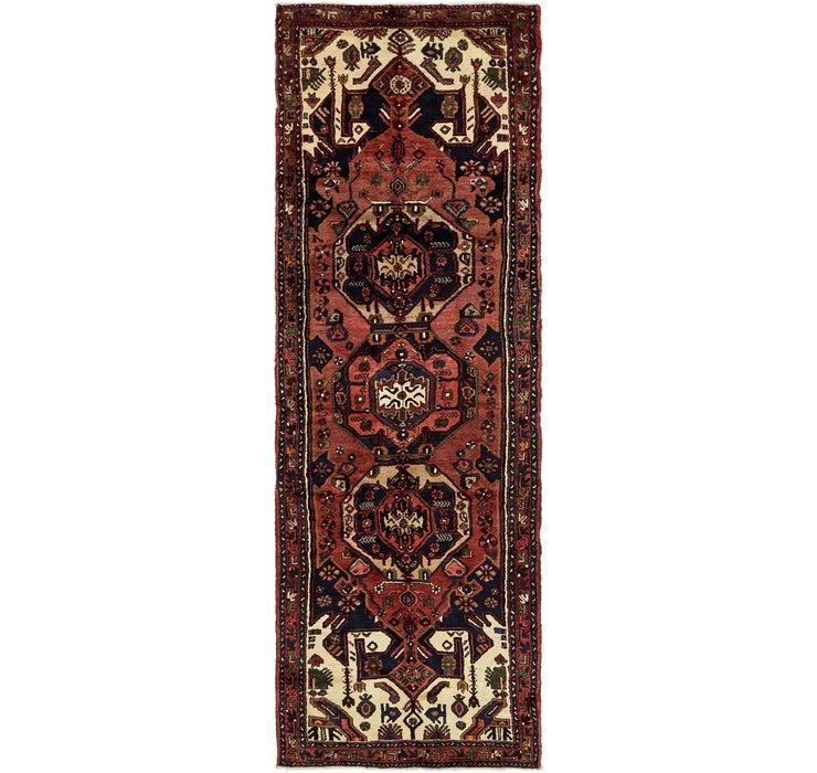 Image of 3' 4 x 10' 4 Khamseh Persian Runner ...