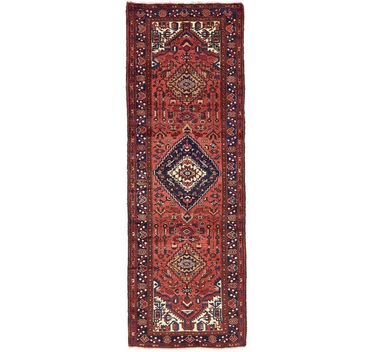 102cm x 305cm Zanjan Persian Runner Rug