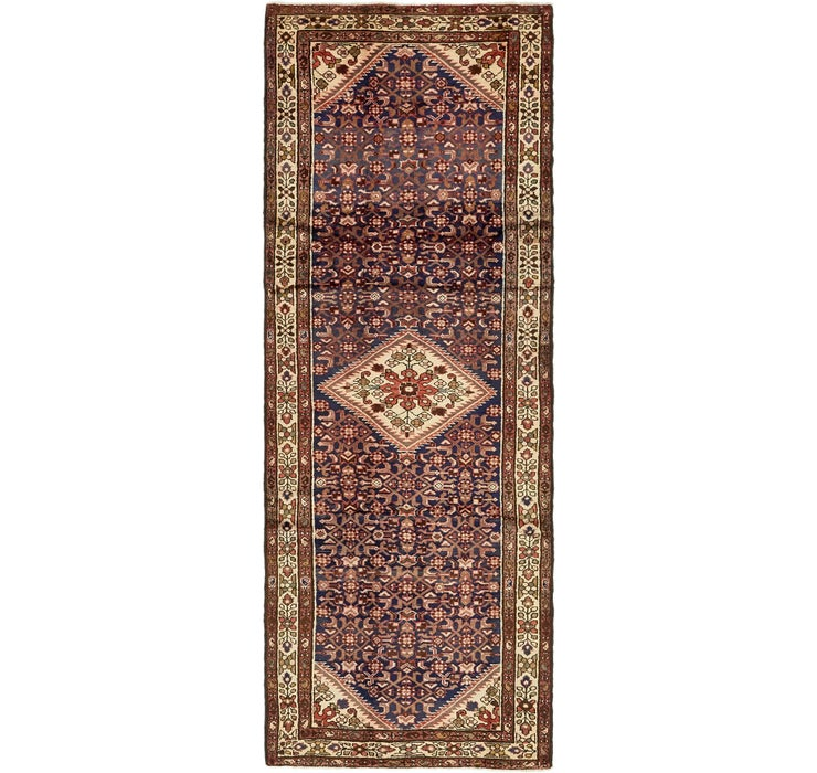 112cm x 310cm Hossainabad Persian Run...