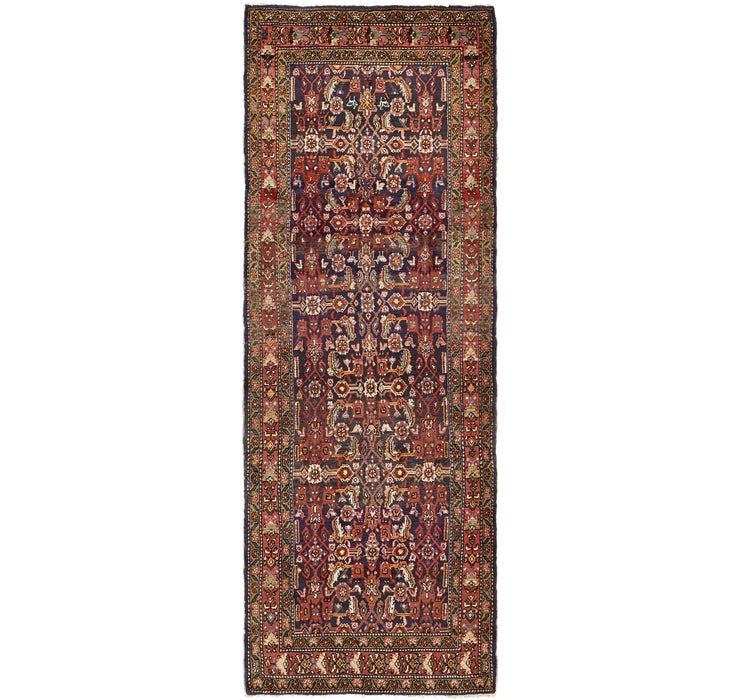 115cm x 310cm Hossainabad Persian Run...