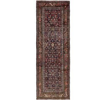 3' 7 x 10' 5 Hossainabad Persian Run...