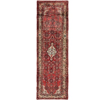 3' 6 x 10' Roodbar Persian Runner Rug main image