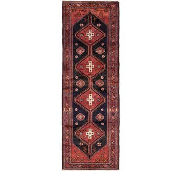 Image of 3' 7 x 10' 2 Borchelu Persian Runner...