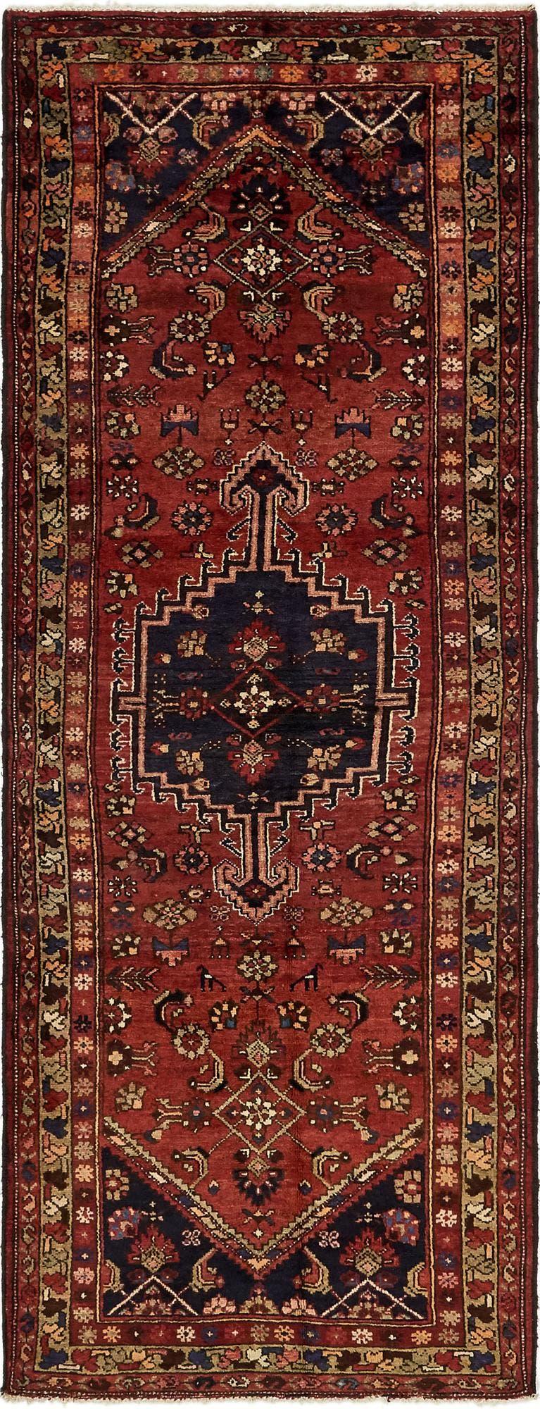 3' 6 x 9' 3 Zanjan Persian Runner Rug main image