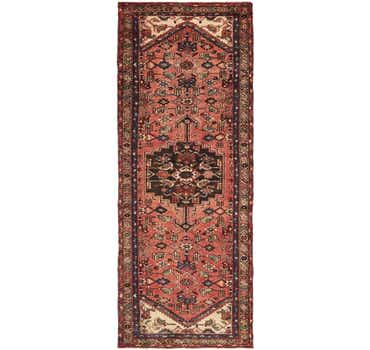 Image of 3' 7 x 9' 9 Zanjan Persian Runner Rug
