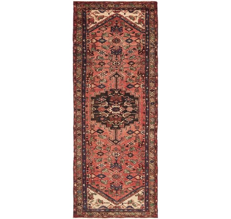 Image of 3' 7 x 9' 9 Zanjan Persian Runner Rug