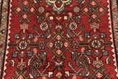 3' 7 x 9' 9 Hossainabad Persian Runner Rug thumbnail