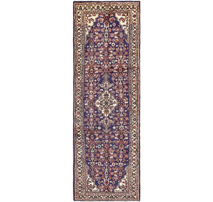 102cm x 302cm Hossainabad Persian Run...