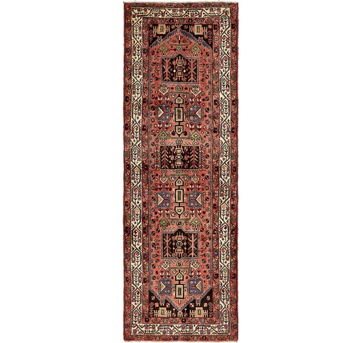 105cm x 297cm Saveh Persian Runner Rug