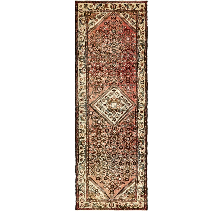 110cm x 318cm Hossainabad Persian Run...