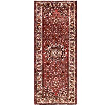 4' x 9' 6 Hossainabad Persian Runner Rug main image