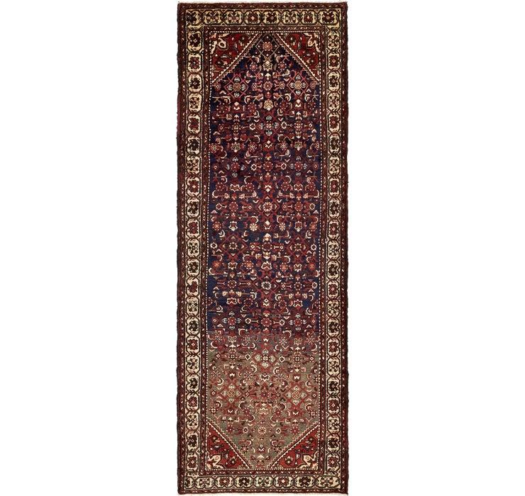 112cm x 345cm Hamedan Persian Runner ...
