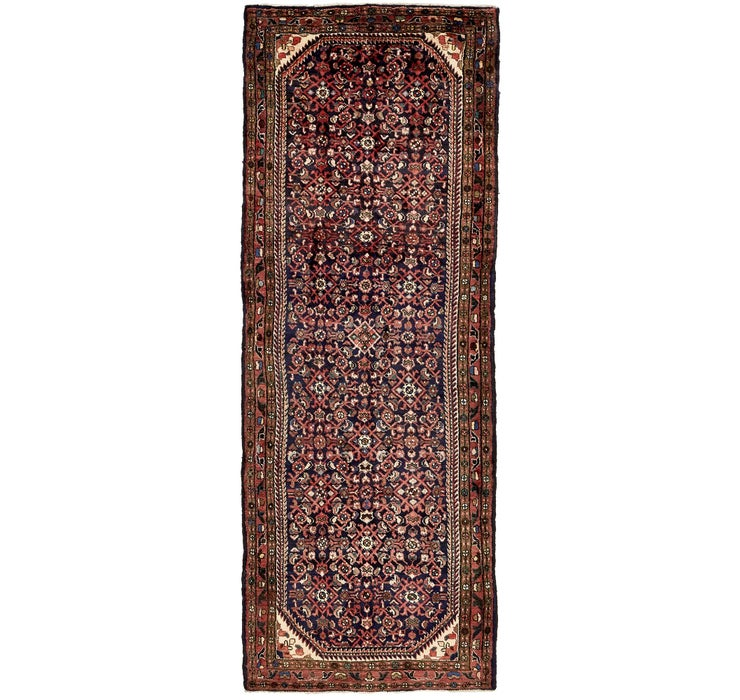 117cm x 318cm Hossainabad Persian Run...