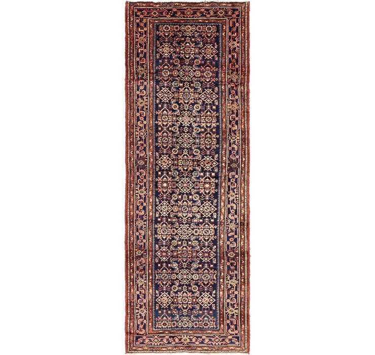 112cm x 323cm Hossainabad Persian Run...