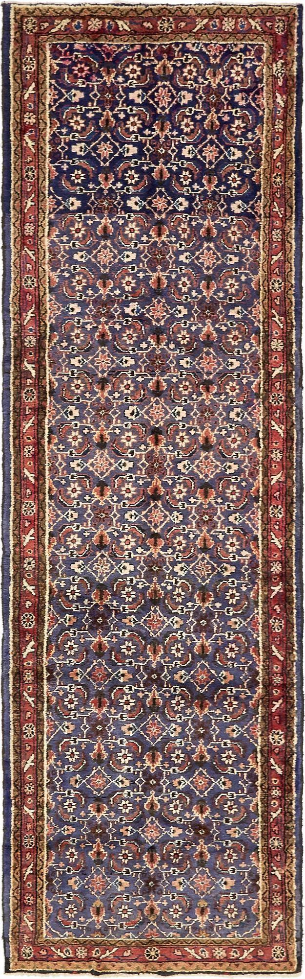 3' 3 x 10' 5 Hamedan Persian Runner Rug main image