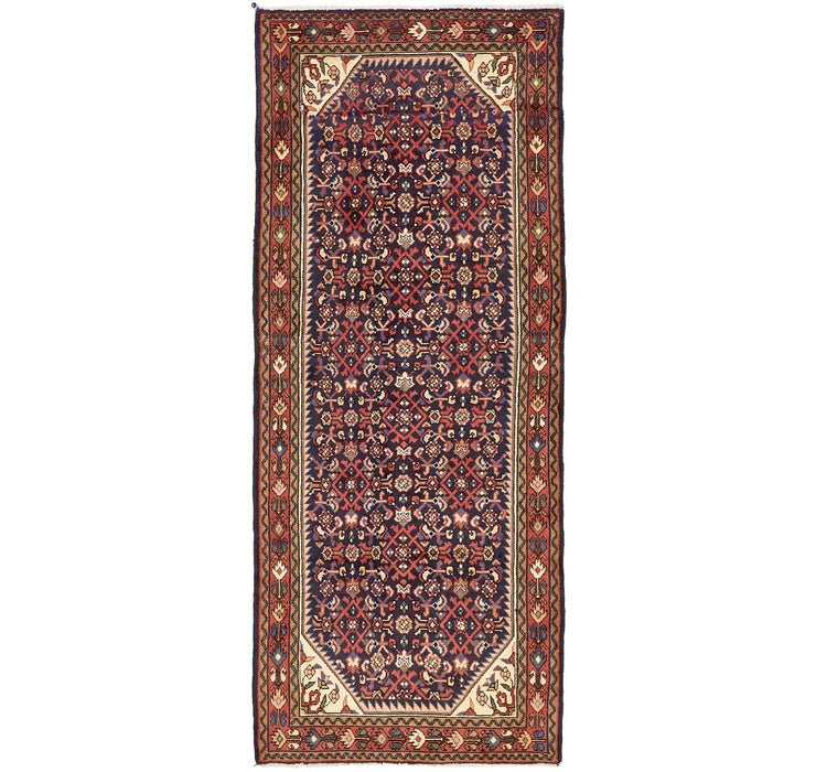 112cm x 272cm Hossainabad Persian Run...