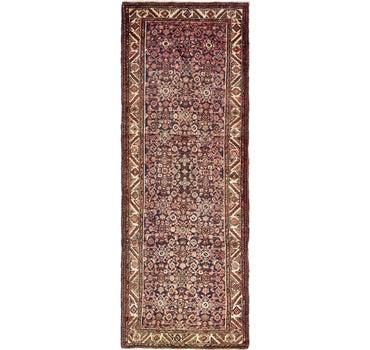 3' 8 x 11' 1 Hossainabad Persian Runner Rug main image