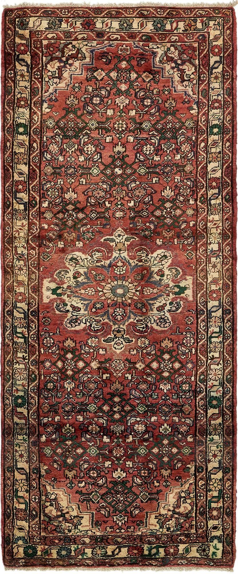 4' x 9' 8 Hamedan Persian Runner Rug main image