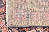3' 8 x 9' 3 Hossainabad Persian Runner Rug thumbnail