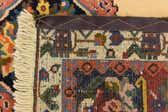 5' 1 x 5' 3 Bakhtiar Persian Square Rug thumbnail