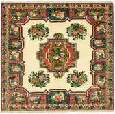 5' x 5' 3 Bakhtiar Persian Square Rug thumbnail
