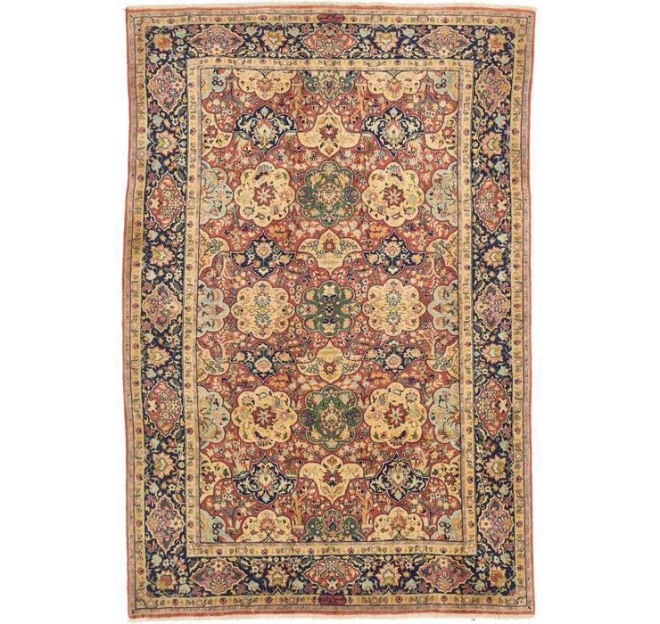 198cm x 295cm Yazd Persian Rug
