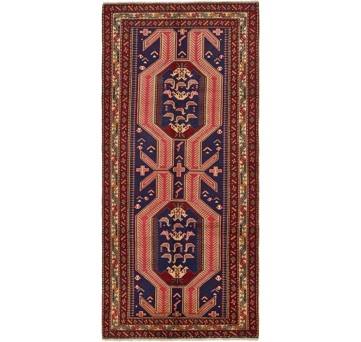 4' 8 x 10' Ardabil Persian Runner ...