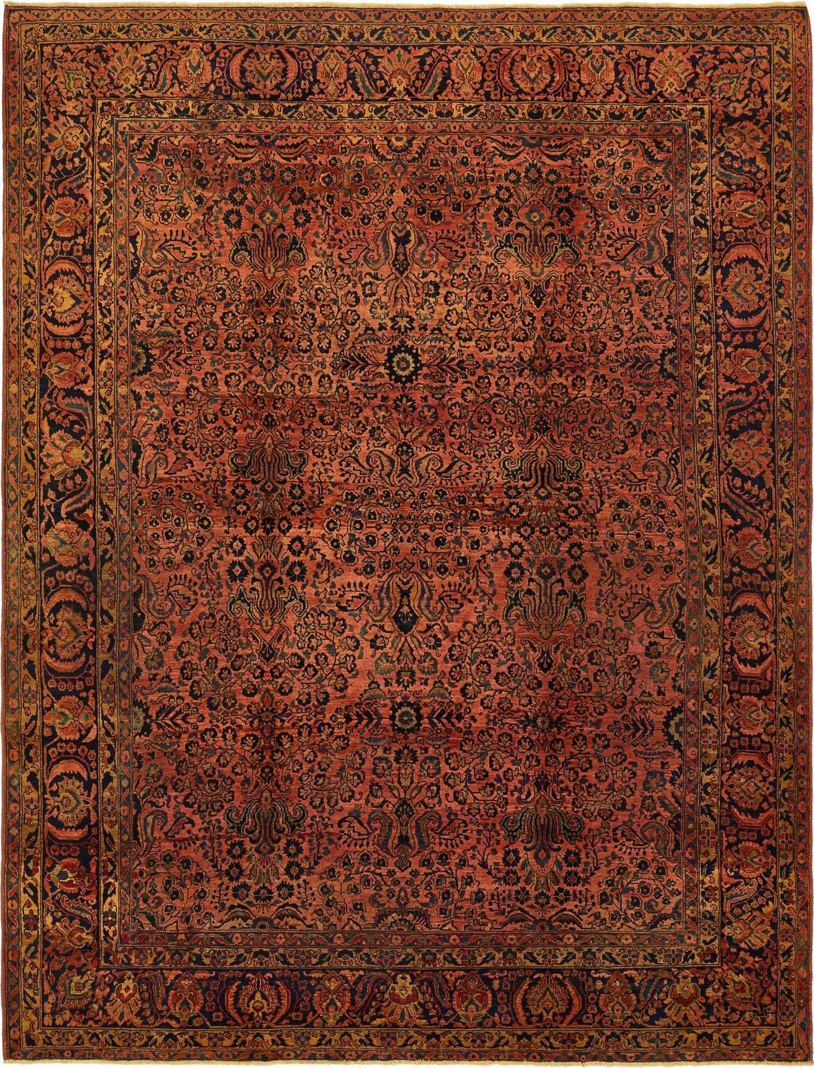 9' 8 x 12' 7 Kerman Persian Rug main image