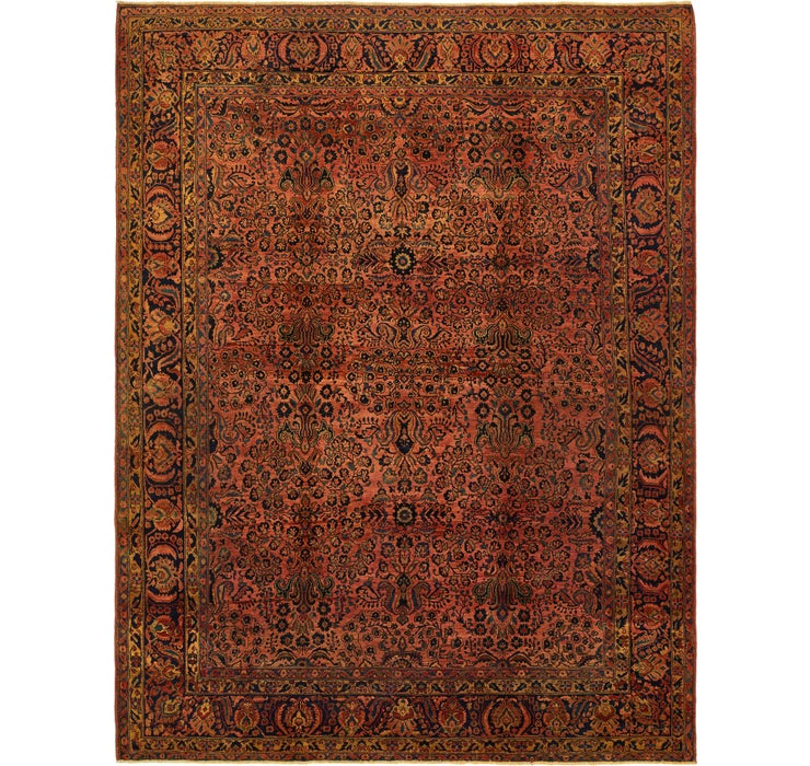 Image of 295cm x 385cm Kerman Persian Rug