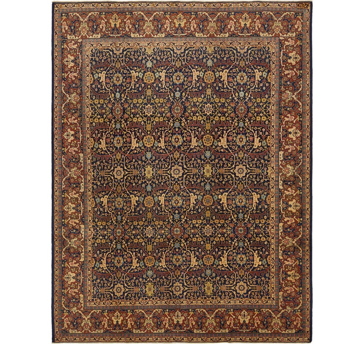 9' 2 x 12' Sarough Persian Rug