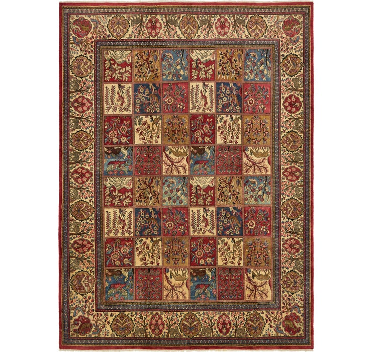 Image of 9' x 12' Sarough Persian Rug