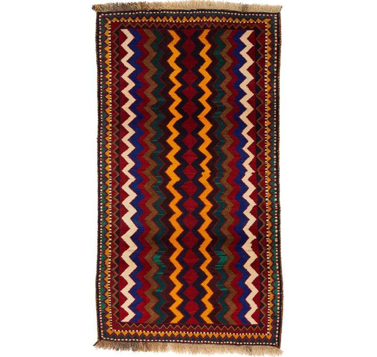 112cm x 200cm Ghashghaei Persian Rug