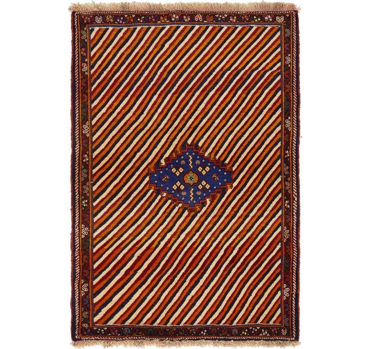 117cm x 170cm Ghashghaei Persian Rug
