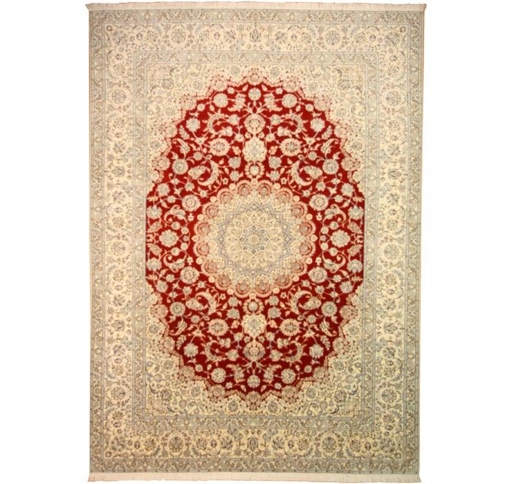 250cm x 348cm Nain Persian Rug