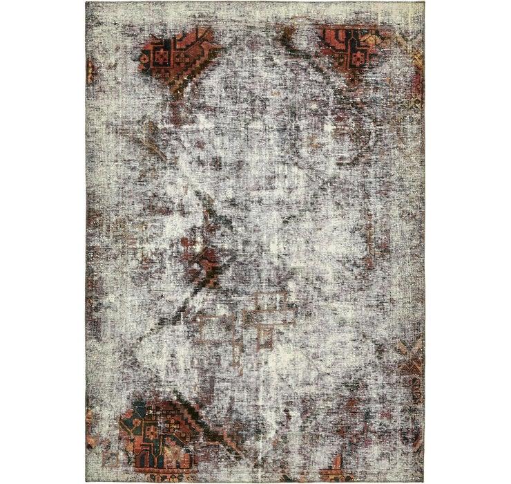 6' 6 x 9' 3 Ultra Vintage Persian Rug