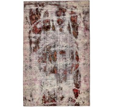 6' x 9' 4 Ultra Vintage Persian Rug main image