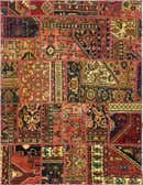 5' 1 x 6' 8 Ultra Vintage Persian Rug thumbnail