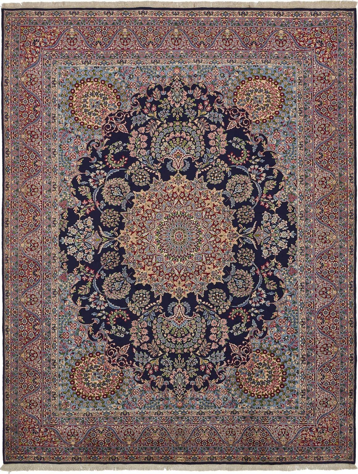 9' 10 x 13' Kerman Persian Rug main image