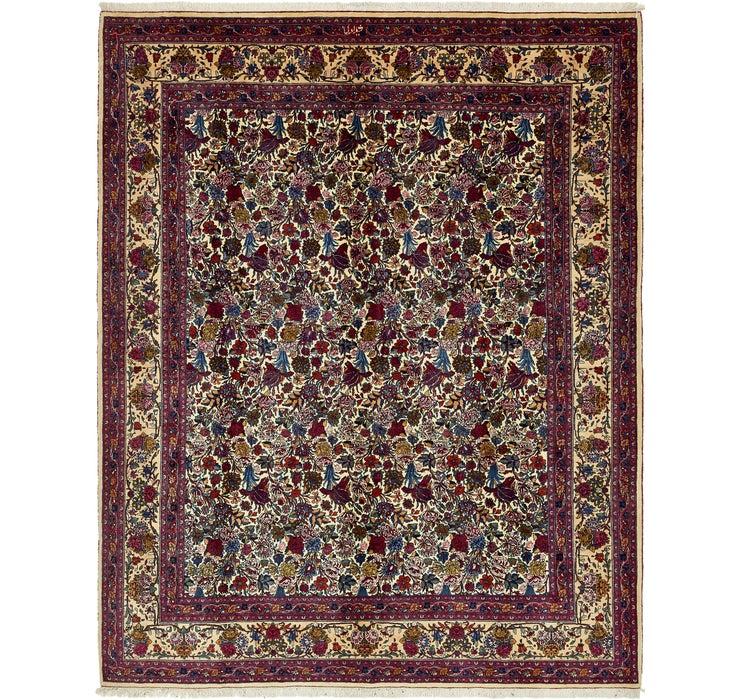 11' 2 x 14' Mashad Persian Rug