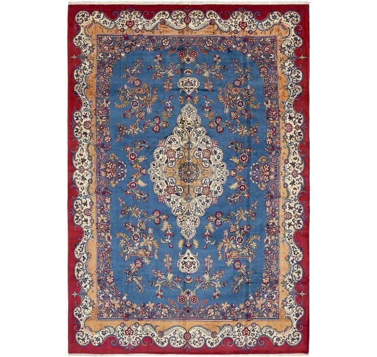 275cm x 405cm Kashan Persian Rug
